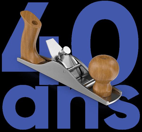 40 ans au service du bois